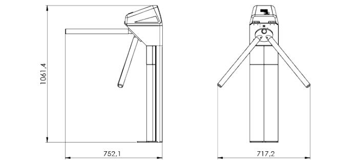 led-pedestal
