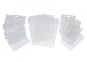 Protetor Flexível para Crachá (Bolsa Plástica)